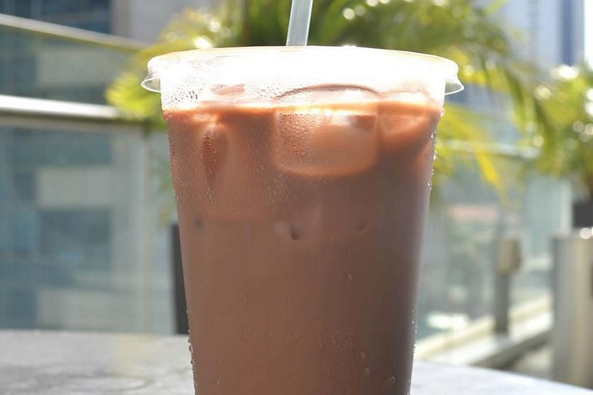 File photo of a cup of iced milo. The eatery owner was also accused of failing to show itemised charges for the milo powder, milk and ice besides the drink's price tag.