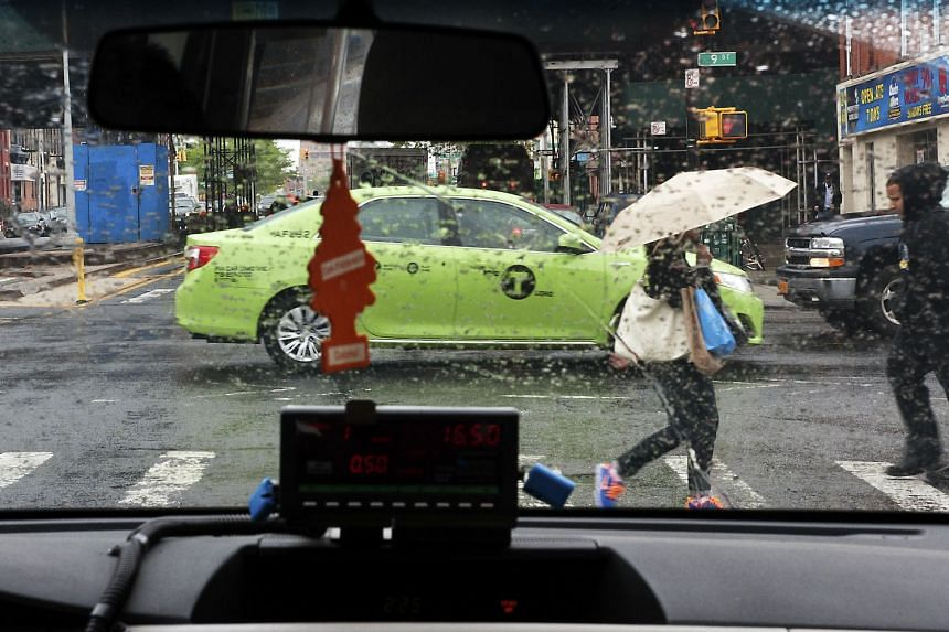 Green cabs were created to tackle the problem of yellow cabs rarely picking up people outside Manhattan, except at the airports.