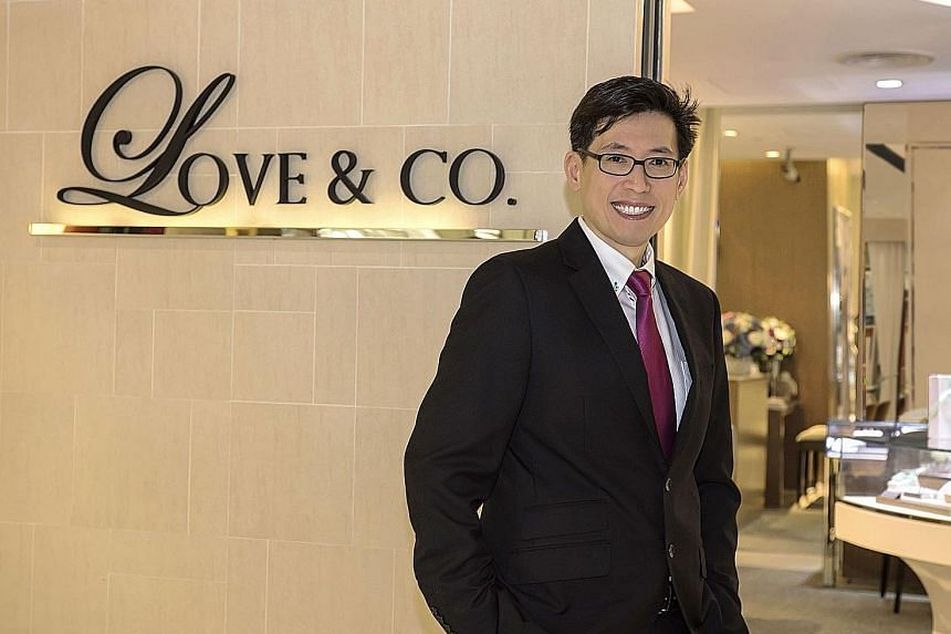 SK Jewellery Group chief executive Daniel Lim says Love & Co is the leading bespoke bridal jewellery specialist in the region, crafting made-to-order engagement rings, wedding bands and other wedding jewellery, such as the signature Lovemarque and LV