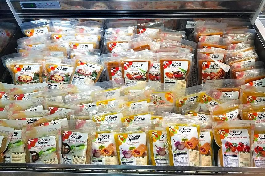 Ready-to-eat soup packs by The Soup Spoon are now available in Hong Kong at City Super.