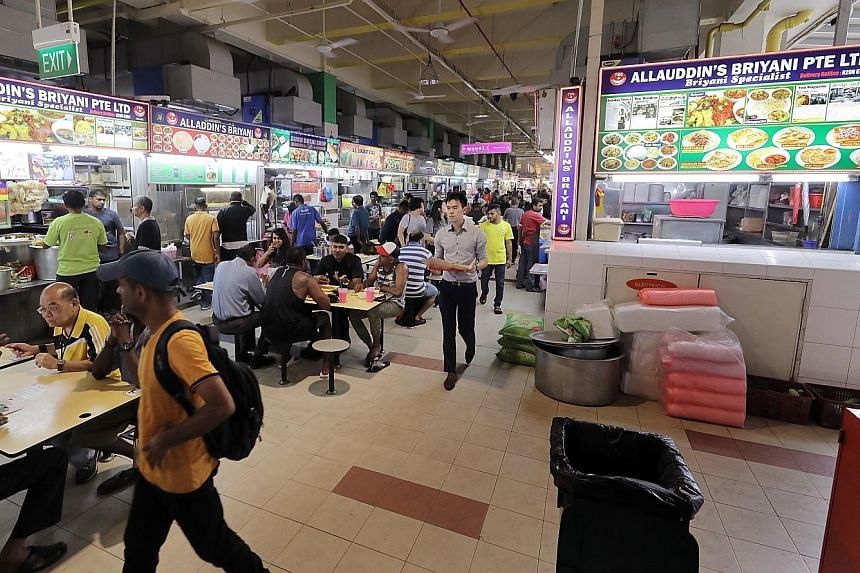 The $5,001 bid for a Tekka Market and Food Centre stall was the highest successful bid received at the food centre, and almost four times more than the average rent for a stall there.