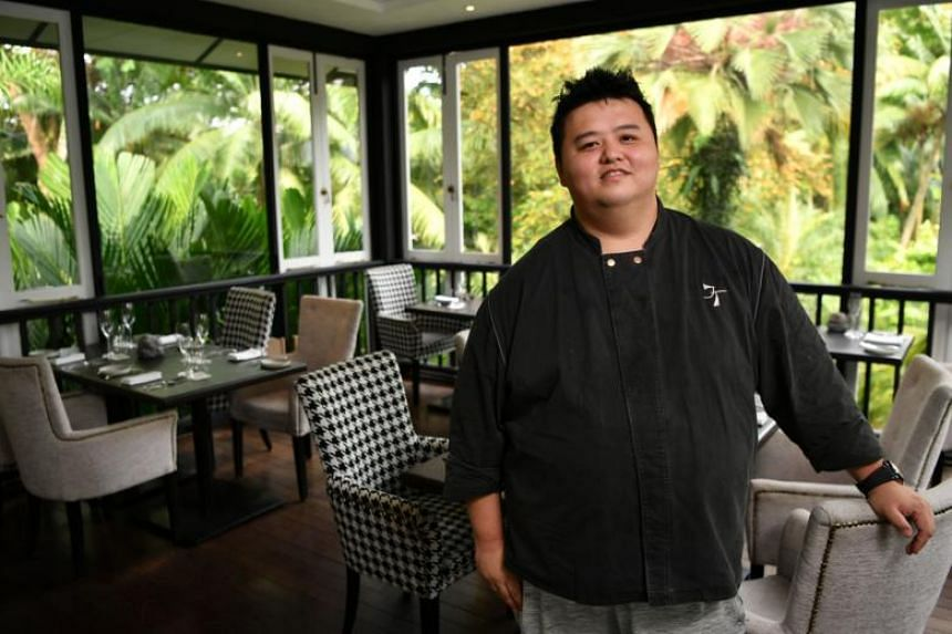 Chef patron and co-owner of Corner House Jason Tan said he had no interest in cooking as a boy. In July, the restaurant received one star in the annual Michelin Guide awards.