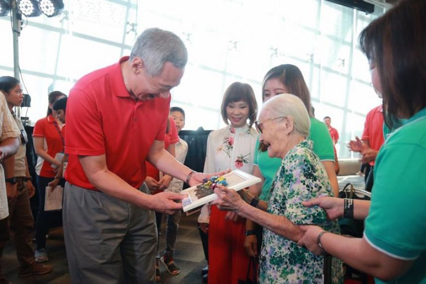 PCF also runs Sparkle Care senior care centres to help families with elderly parents, and through Sparkletots and Sparkle Care, both young and old can have opportunities to interact with one another, PM Lee said.