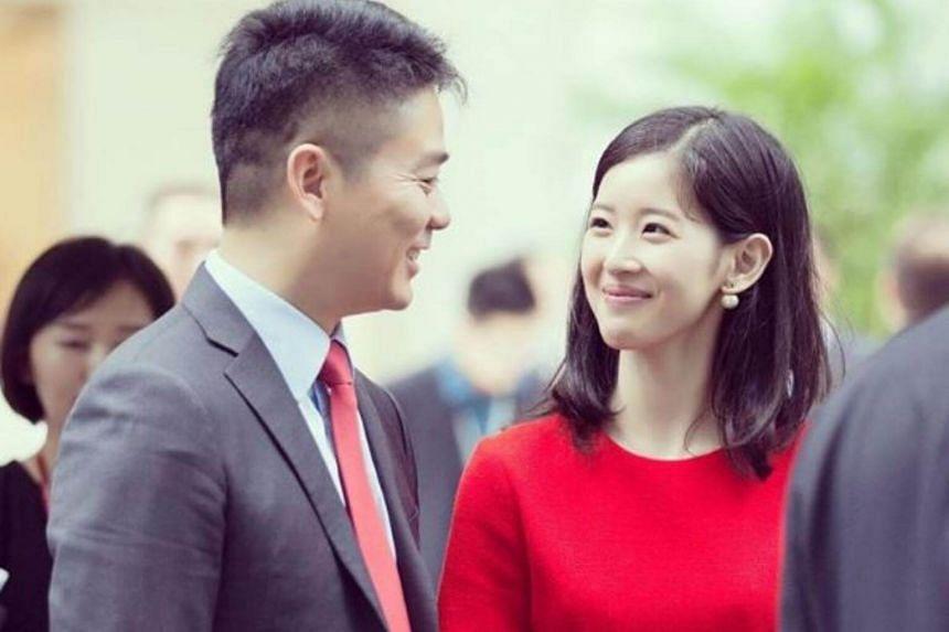 Zhang Zetian and her husband, JD.com founder Richard Liu.