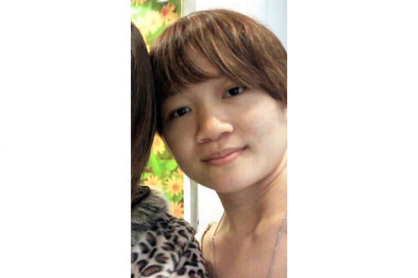 The couple who tortured Annie Ee Yu Lian (above) for eight months, until her death, was convicted of causing grievous hurt with a weapon.