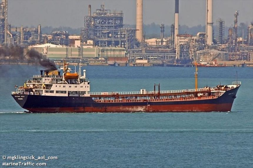 MV Eastern Glory, a Mongolia-flagged vessel, did not have any import document or proper sailing permit when it was intercepted in waters off Batam on Sept 5, 2018.