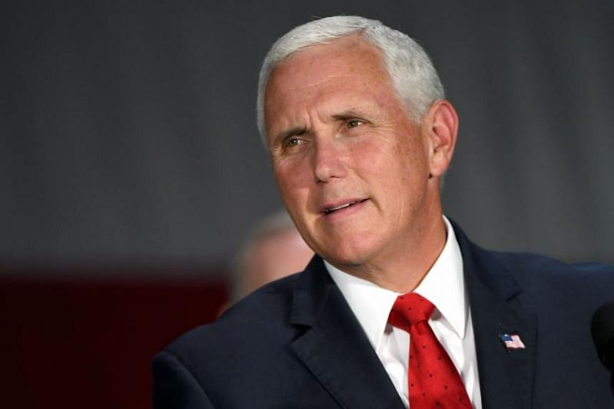 """Vice President Mike Pence told CBS that there has """"never"""" been a discussion of invoking the 25th Amendment of the US Constitution to remove US President Donald Trump from office."""