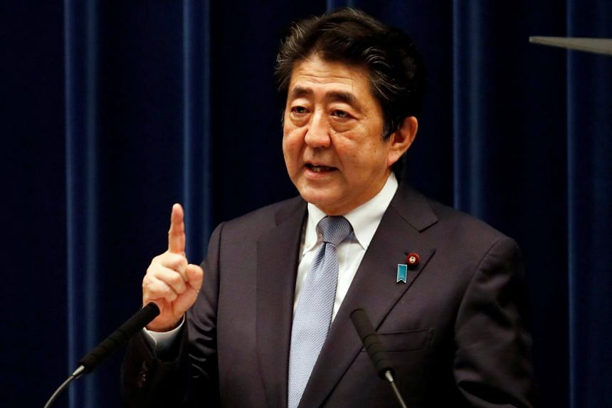 Japanese Prime Minister Shinzo Abe said he has learned a lesson from the impact of the 2014 sales tax hike, which dealt a blow to private consumption.
