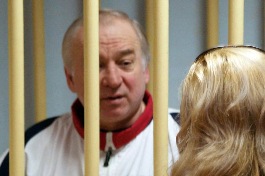 File photo of former Russian military intelligence colonel Sergei Skripal attending a hearing at the Moscow District Military Court in Moscow, on Aug 9, 2006.