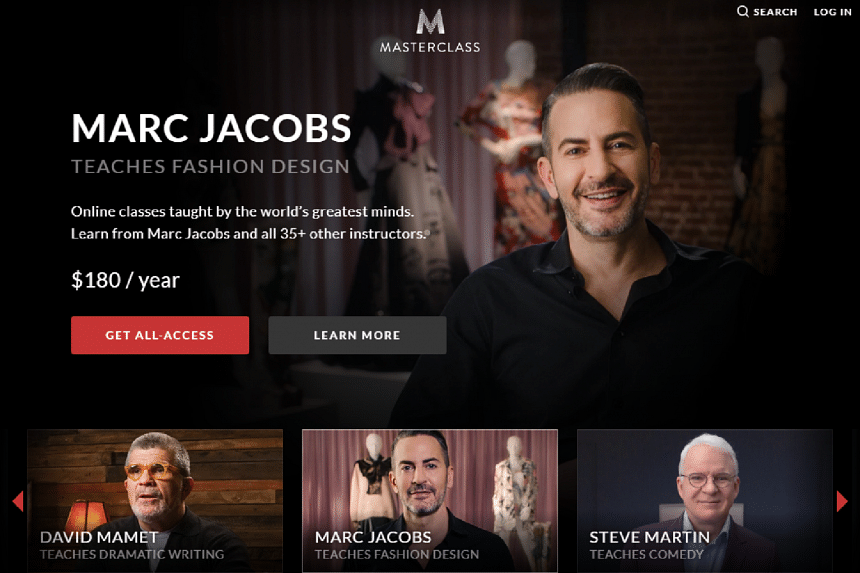 MasterClass sells access to celebrities in the form of video lectures for US$90 (S$124) a pop.