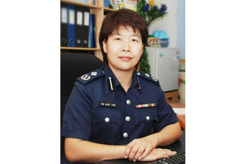 Assistant Commissioner Ng Guat Ting has 23 years of service under her belt, including a stint as the commander of the Clementi Police Division.