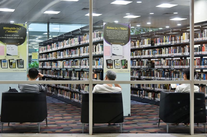 The National Library Board brings in an average of 86,000 new titles for Singapore's 26 public libraries each year.