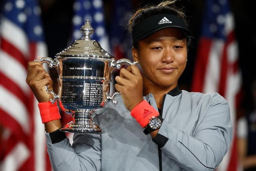 Naomi Osaka became the first Japanese player to win a Grand Slam when she defeated Serena Williams at the US Open finals.