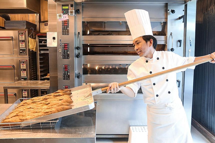 Popular Taiwanese baker Wu Pao-chun is keen to use local ingredients in Singapore, such as curry spices and durians.
