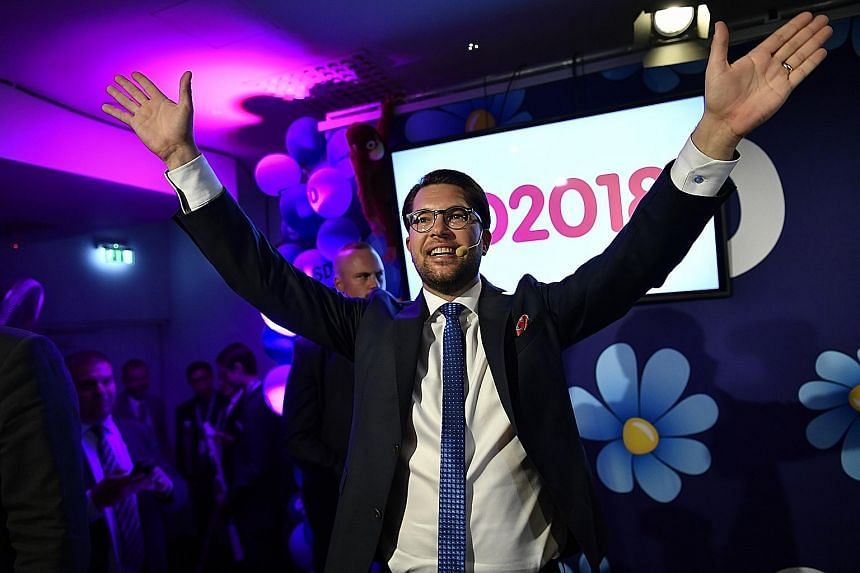 Sweden Democrats leader Jimmie Akesson has won over mainstream voters with his efforts to cleanse the party of its neo-Nazi roots.