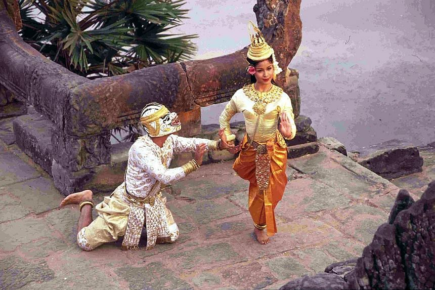 Japan has given funding to the Royal Ballet of Cambodia for research and documentation, and training programmes. (Left) Inscribed on the Unesco list in 2008, mak yong has been around for over 200 years and contains spiritual elements and aspects of H