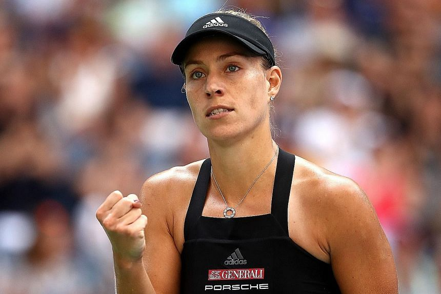 Germany's Angelique Kerber will be aiming to go one better than her 2016 runner-up finish at the season-ending WTA Finals in Singapore.