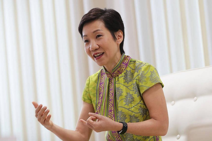 Minister for Culture, Community and Youth Grace Fu thanked the nine NMPs, whose 21/2-year term of office ends this month.