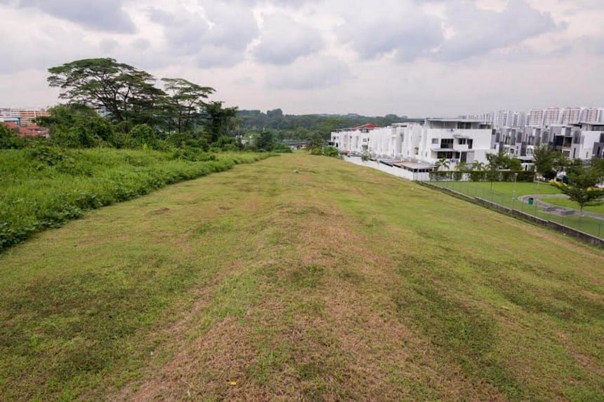 The empty plot of land on which the new Bukit Gombak park will be built on. The park will span 4.8 hectares, and will contain amenities such as a seedling garden and a dog run.