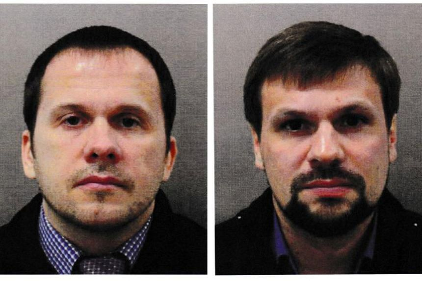 British authorities have issued European arrest warrants for Alexander Petrov and Ruslan Boshirov, two suspected members of Russian military intelligence, the GRU.