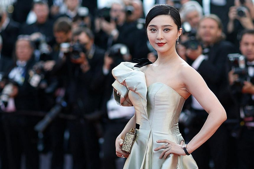 Actress Fan Bingbing, one of the most successful and wealthy actresses in China, was accused of tax evasion.