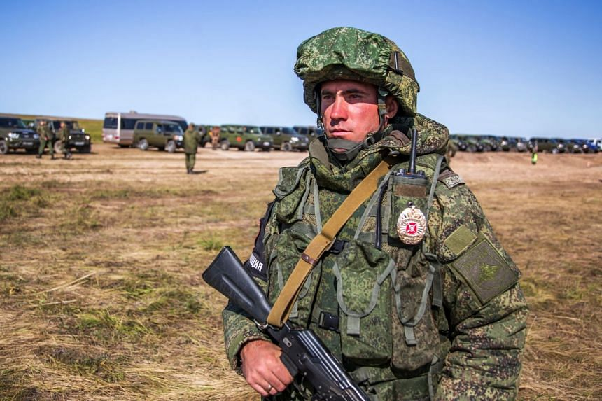 Russia's Ministry of Defence released images of Vostok 2018.