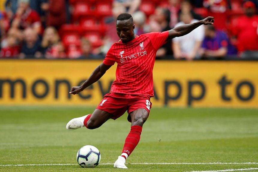 Naby Keita said it is only normal that it is taking him time to acclimatise to the English Premier League after playing in the Bundesliga.