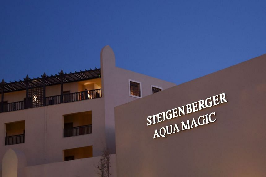 The Steigenberger hotel in Egypt's Red Sea resort of Hurghada is where the couple died.