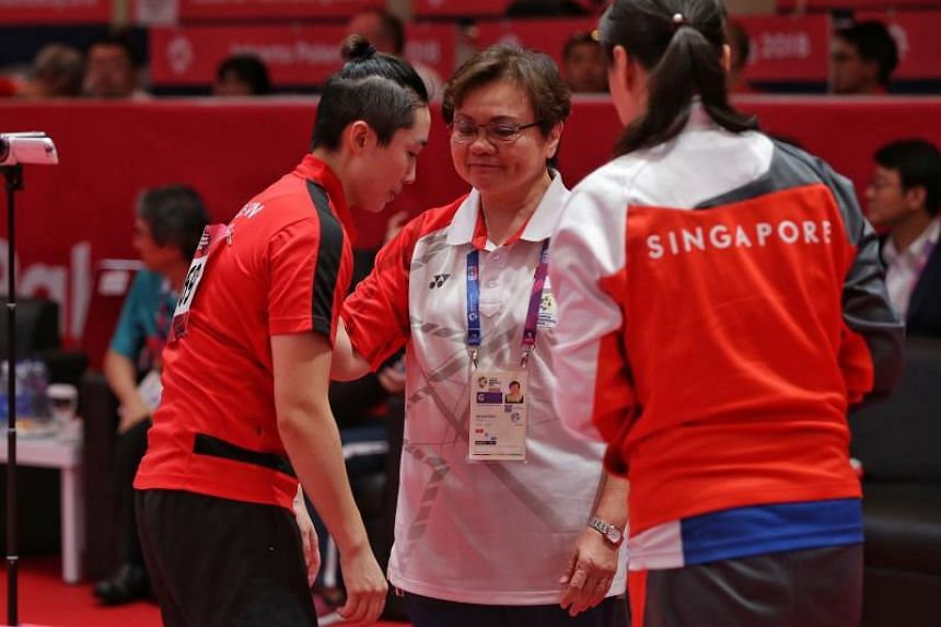 "Singapore Table Tennis Association president Ellen Lee said that ""there are many ways of promoting sports"", and noted that participating in competitions was just one component."