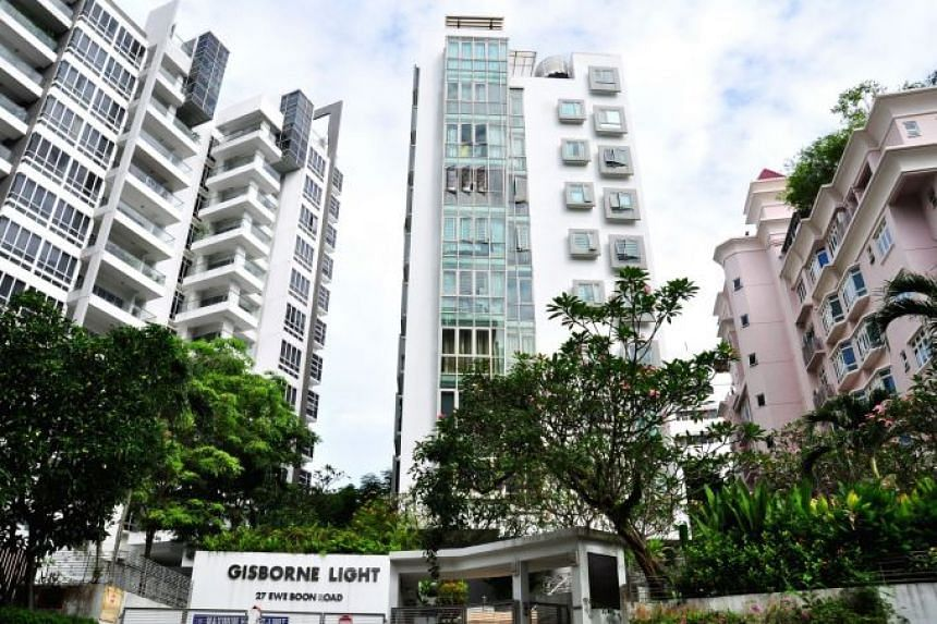 The 17-unit condominium at Ewe Boon Road sits on a 13,841 square foot site zoned as residential under the Urban Redevelopment Authority's 2014 Master Plan with a gross plot ratio of 1.6.