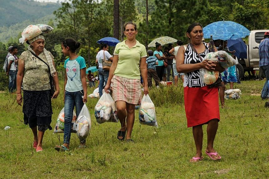 At least 600 families from five different indigenous communities in Honduras are facing starvation due to the loss of their crops, after the sever droughts caused by the El Nino climate phenomenon.