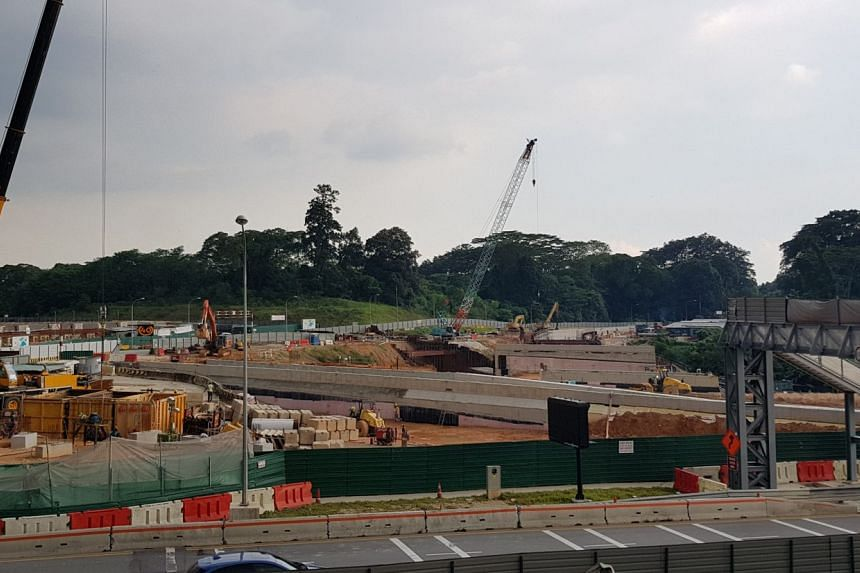 The southbound Lornie Highway - better known as Bukit Brown Road - is meant to cater to increasing traffic demand when the Bukit Brown area is redeveloped into a housing estate from 2030.