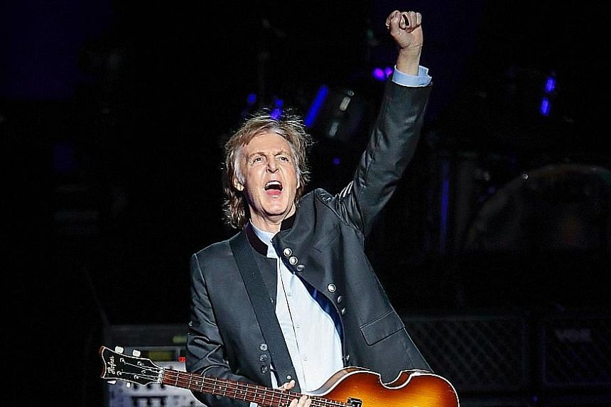 Highly tuneful melodies are found in Paul McCartney's 18th solo album Egypt Station.
