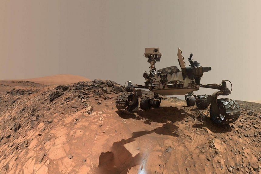 File photo showing the Curiosity Mars rover vehicle. The US National Aeronautics and Space Administration plans to send a new rover robotic lander to Mars in 2020.