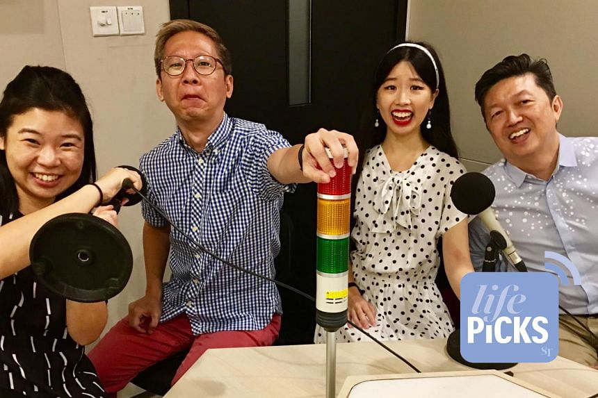 From left: Life Picks podcast host Melissa Sim and Life journalists Boon Chan, Olivia Ho and Wong Ah Yoke give you the best lifestyle tips this week.
