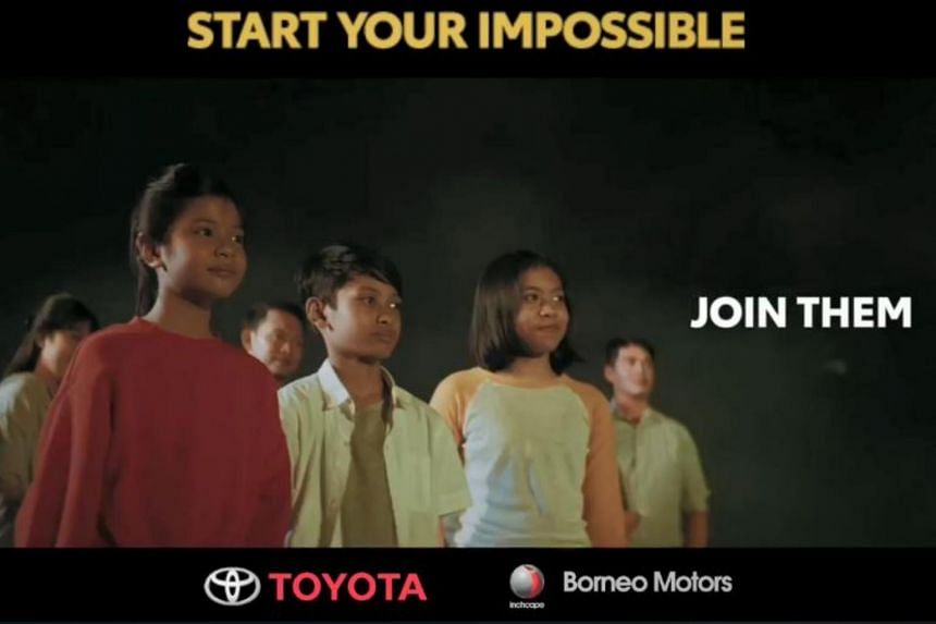 """Called """"Start Your Impossible"""", the initiative celebrates the Olympic and Paralympic spirit."""