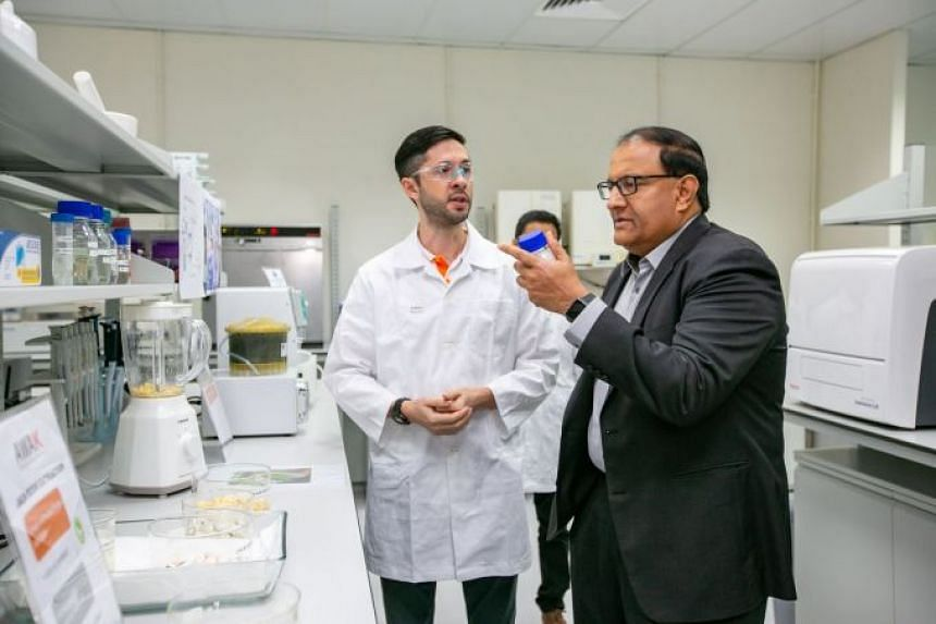 Mr S. Iswaran, Minister for Communications and Information & Minister-in-charge of Trade Relations, at the official opening of Accuron MedTech Group's new technology centre in Tuas.