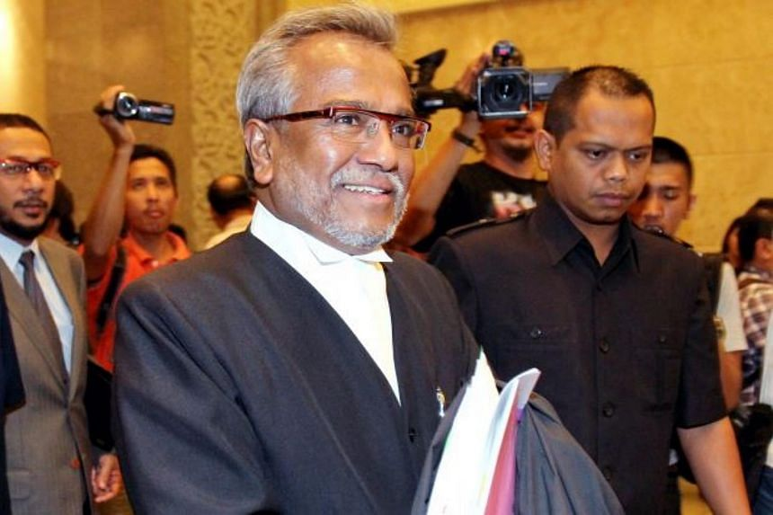 Senior Malaysian lawyer Muhammad Shafee Abdullah is believed to have been arrested by officers from the Malaysian Anti-Corruption Commission, on Sept 12, 2018.