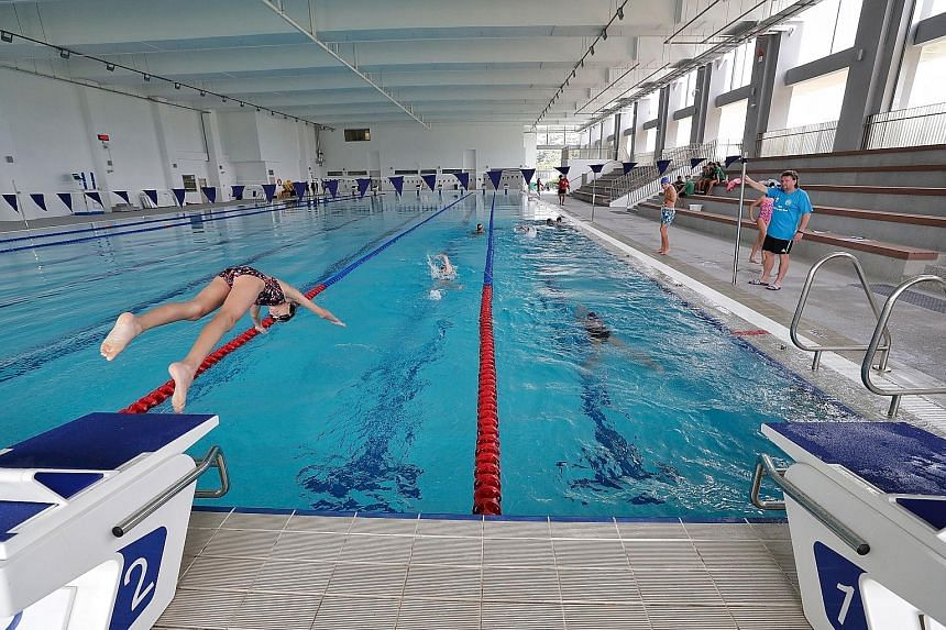 The German European School Singapore's new $135 million campus at 2 Dairy Farm Lane has an Olympic-size swimming pool, a football field, cooking studio and a 400-seat auditorium. These facilities are open to community organisations, subject to availa