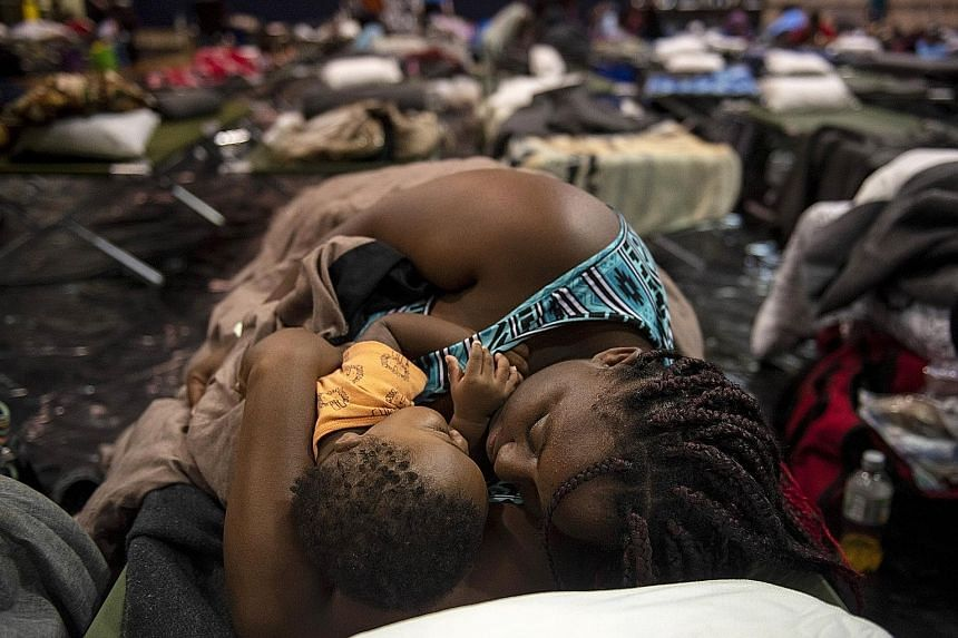 Thousands of people in North Carolina have moved to emergency shelters ahead of Hurricane Florence, which is expected to hit the US state today. Also, millions are expected to lose power, perhaps for weeks.