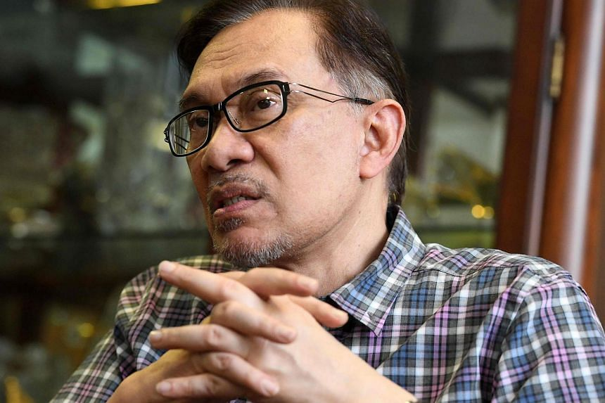 Datuk Seri Anwar Ibrahim said he had already expressed his intention to contest two weeks ago.