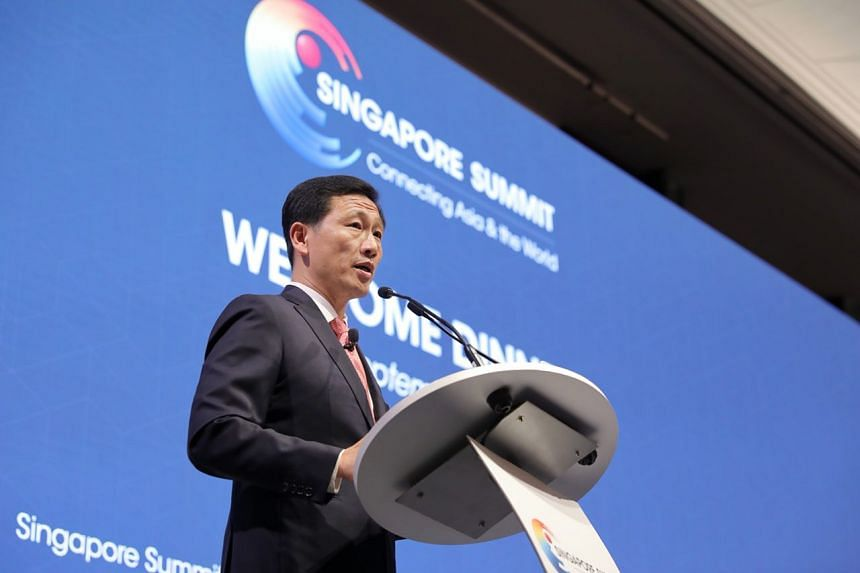 At the Singapore Summit, Education Minister Ong Ye Kung outlined the Government's long-term strategies in four areas: Infrastructure, the economy, an ageing population and education.