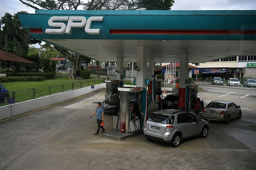 An SPC petrol station along Upper Thomson Road. SPC has 38 stations across the island, the same number as when PetroChina took over the company a decade ago.