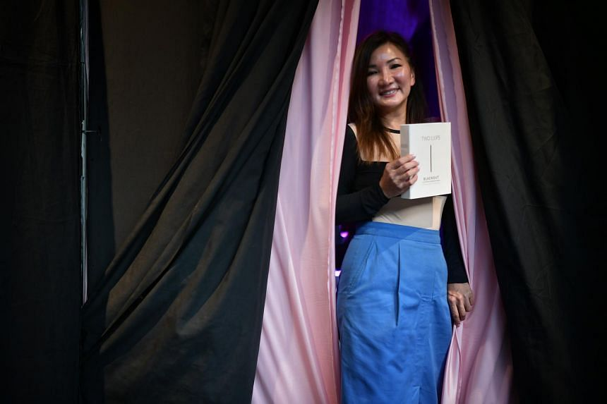 Ms Cynthia Chua, 47, founder of the home-grown Spa Esprit Group, has created the Two L(i)ps Blackout Mask, a charcoal mask for the vulva.