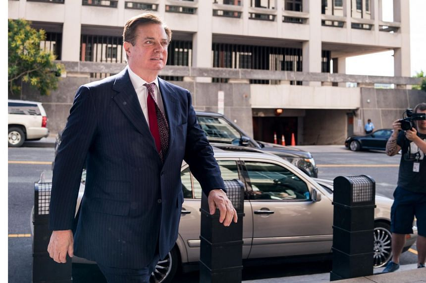 File photo showing Paul Manafort, who has agreed to plead to conspiracy against the US and conspiracy to obstruct justice by tampering with witnesses.