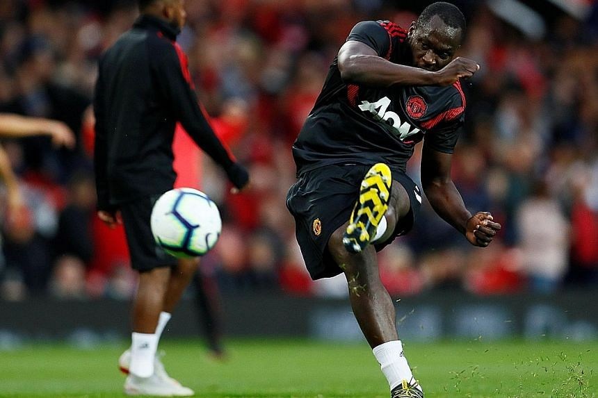Manchester United striker Romelu Lukaku will be expected to lead the line against the Hornets at Vicarage Road today. The Belgian feels the United dressing room benefits from Jose Mourinho's forthright character.