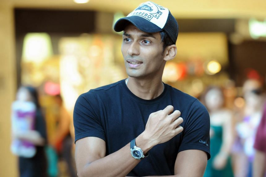 A 2010 file photo of U.K. Shyam. His book Running On Empty: The Story Behind 0.01s was officially launched at the Singapore Sports Hub Library, on Sept 15, 2018.