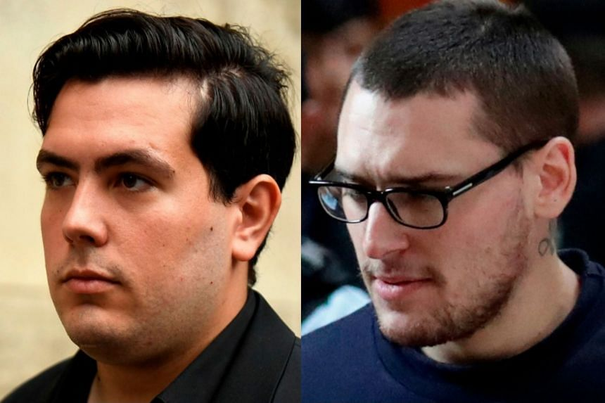 The heaviest sentence of 11 years went to Esteban Morillo (left), while Samuel Dufour (right) was given seven years.