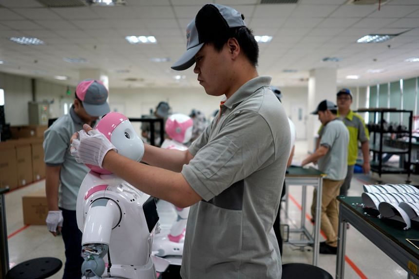 Large majorities in 10 countries that were surveyed agreed that people would have a hard time finding work and inequality would worsen due to automation and artificial intelligence.