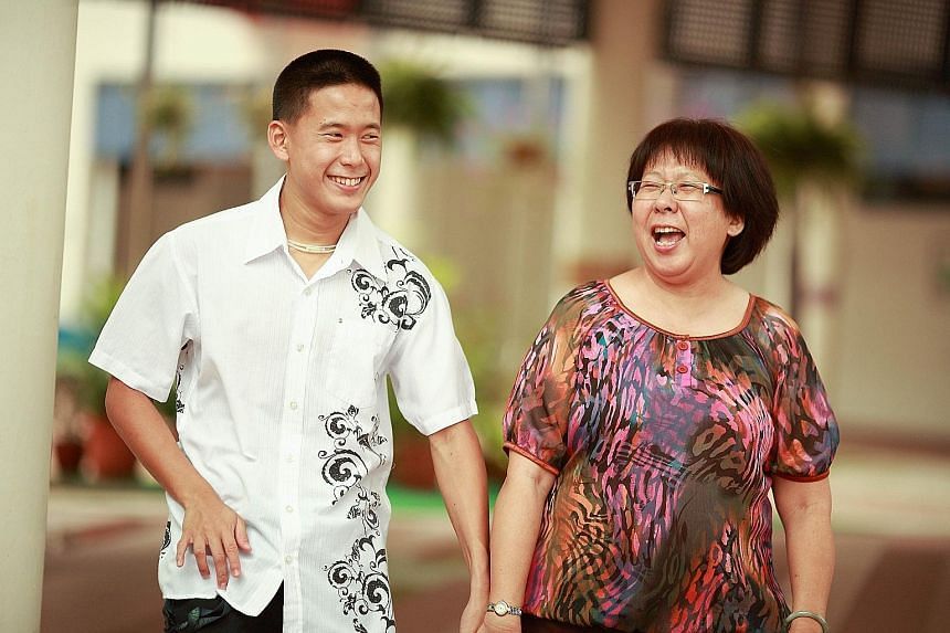 The story of Mr Benson Tan and his mother, Madam Mimi Tan, is echoed in the film Swim Team, about how the parents of an autistic boy formed a competitive swim team made up of swimmers with autism in the United States.